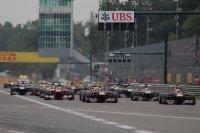 Start GP van Italië op Monza