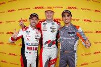 WTCR-rookies aan het feest, naast Tiago Monteiro: Johan Kristoffersson en Mikel Azcona