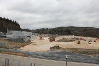 Werken rallycross-piste Spa-Francorchamps