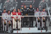 Podium Qualifying Race Brands Hatch 2016