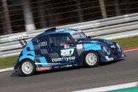 Met deze auto debuteerde Matteo Raspatelli in de VW Fun Cup