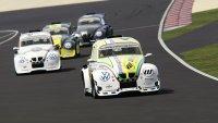 De virtuele VW Fun Cup op het nieuwe circuit van Zandvoort
