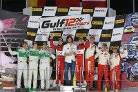 Algemeen podium Gulf 12 Hours 2017