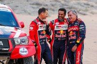 Matthieu Baumel, Nasser Al-Attiyah en Carlos Sainz