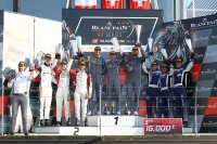 Podium Blancpain GT Endurance Cup Silverstone