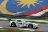 Mercedes SLS AMG - Petronas Syntium Team