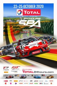 Poster Total 24 Hours of Spa 2020