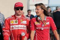 Kimi Räikkönen - Stefania Bocchi (persverantwoordelijke Ferrari)