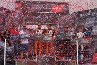Louis Machiels en Andrea Bertolini (l.) wonnen de Pro Am-titel