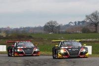 De Audi's van WRT waren snel onderweg in Nogaro