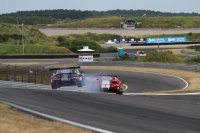 Crash Brussels Aston Martin & Thiers Ferrari