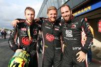 Cédric Bollen, Sébastien Kluyskens en Gilles Debrus