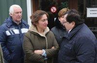 Vlaams minister Zuhal Demir in gesprek met BRCV Voorzitter Michel Vigneron, Mathieu Vanhoef en Linda Reuten