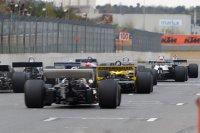 Start race 2 FIA Masters Historic Formula 1