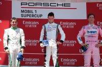 Podium Porsche Supercup Barcelona