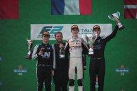 Podium 2021 Formule 2 Monza Sprintrace 1