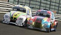 Julien Schein (#2 DRM Motorsport) in gevecht voor de leiding