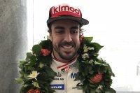 Fernando Alonso na zijn Le Mans-zege vorig jaar