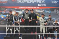 Podium BMW Clubsport Trophy