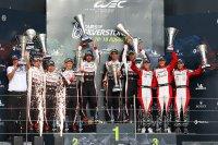 Podium FIA WEC 6H Silverstone 2018