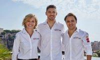 Susie Wolff, Edoardo Mortara en Felipe Massa