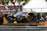 De Ferrari #50 werd tot schroot herleid