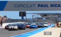 Start race 1 GT4 European Series Paul Ricard