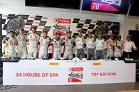 De winnaars van de 70ste 24 Hours of Spa