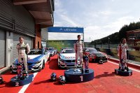 Podium race 1 DTM Trophy Spa 2020