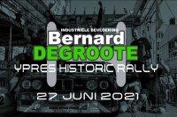 Bernard Degroote Ypres Historic Rally