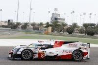 Fernando Alonso in de Toyota TS050 Hybrid