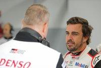 Ook Fernando Alonso tekende present