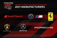 Deelnemende constructeurs Fanatec GT World Challenge