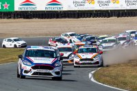Staart race 2 Ford Fiesta Sprint Cup