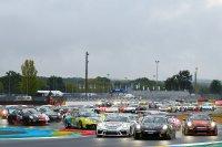 Start porsche Cup race Le Mans