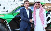 Alejandro Agag en Prins Abdulaziz bin Turki AlFaisal Al Saud