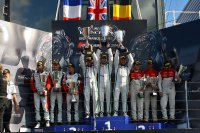 Podium BES Silverstone 2014