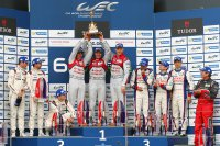 Podium 6H Silverstone 2015