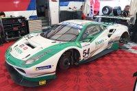 De Ferrari van Soenen/Vervisch in de Road to Le Mans-serie