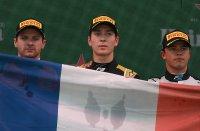 Podium sprintrace F2 Monza