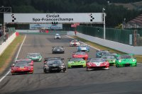 Start Qualifying Race Blancpain GT Sports Club Spa