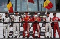 Podium British GT Spa Race 1