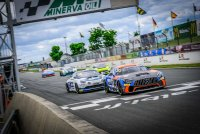Lémeret in het spoor van de winnende AKKA-ASP Mercedes