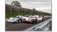 Porsche 956 en Porsche 919 Hybrid Evo