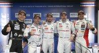 podium race 1 WTCC Race of Thailand 2015
