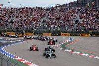Start GP van Rusland 2018