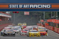 Start Race 1 NASCAR Whelen Euro Series Elite 1 Circuit Zolder
