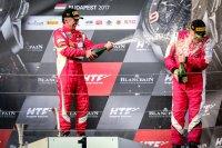 Podium Patrick Van Glabeke - Ferrari 488 GT3 AF Corse