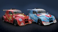 Leader vs Vaillante in de VW e-Fun Cup