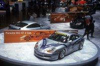 De allereerste Porsche 911 GT3 Supercup, voorgesteld op het Salon van Geneva in 1999